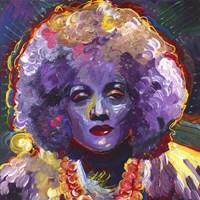 Marlene Deitrich Vodoo Fine Art Print