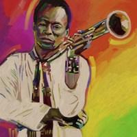 Miles Davis Fine Art Print
