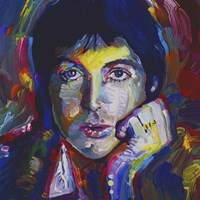 Paul Mccartney Fine Art Print