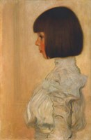 Portrait of Helene Klimt Fine Art Print
