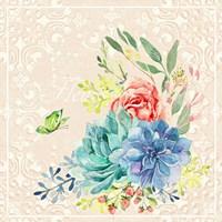 Delicate Flowers II Fine Art Print