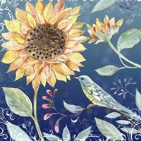 Evening Garden V Fine Art Print