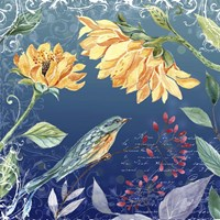Evening Garden VI Fine Art Print