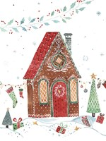 Gingerbread House I Fine Art Print