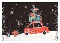 Christmas Car I Fine Art Print