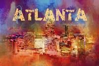 Sending Love To Atlanta Fine Art Print