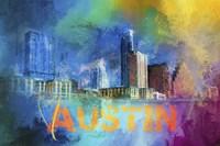 Sending Love To Austin Fine Art Print
