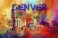 Sending Love To Denver Fine Art Print