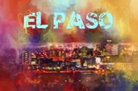 Sending Love To El Paso Fine Art Print