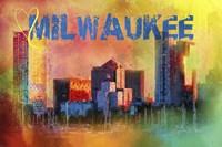 Sending Love To Milwaukee Fine Art Print