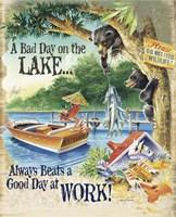Bad Day Bears Fine Art Print