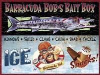 Barracuda Bob Fine Art Print