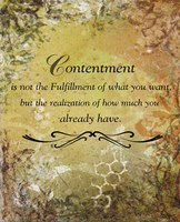 Contentment (earth theme) Fine Art Print