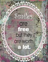 Smiles (Urban Grunge theme) Fine Art Print