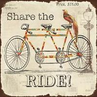 Share the Ride Fine Art Print