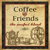 Coffee and Friends Fine Art Print