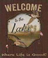 Wilderness Lodge-C Fine Art Print