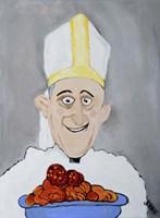 Pope Pasta Fine Art Print