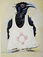 Crow Vest Fine Art Print