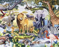 Safari Wildlife Fine Art Print