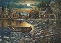 High Country Retreat Fine Art Print