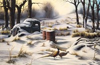Winter Retreat Fine Art Print