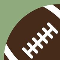 Football Close-ups - Ball Fine Art Print