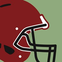 Football Close-ups - Helmet Fine Art Print