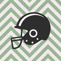 Eat Sleep Play Football - Green Part III Fine Art Print