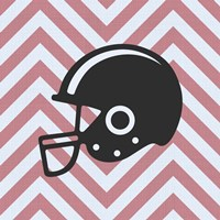 Eat Sleep Play Football - Pink Part III Fine Art Print
