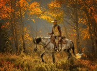 Mustang Fall Fine Art Print
