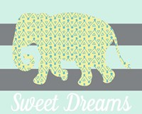 Elephant Sweet Dreams Fine Art Print