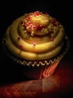 Cupcake With Sprinkles Fine Art Print