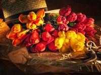 Fresh Cut Tulips Fine Art Print