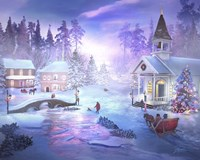 Christmas Creek Fine Art Print