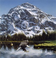 Purple Mountain Majesty Fine Art Print