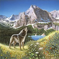 Alpine Chorus Fine Art Print