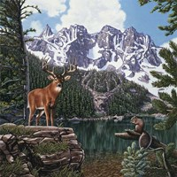 Emerald Lake Fine Art Print
