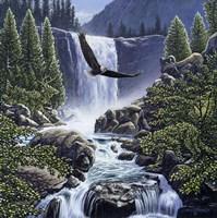 Sanctuary Falls Fine Art Print