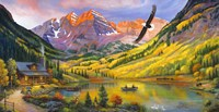 Rocky Mountain Retreat Fine Art Print