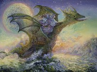 Dragon Ship Fine Art Print