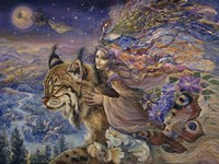 Flight Of The Lynx Fine Art Print