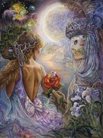 Masque Of Love Fine Art Print