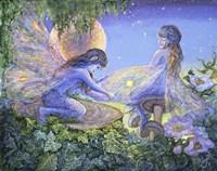 Mending By Magic Fine Art Print