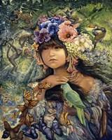 Princess Of The Amazon Fine Art Print