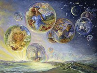 Seasons Of Life - Bubbles Fine Art Print