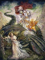 St. George And The Dragon Fine Art Print