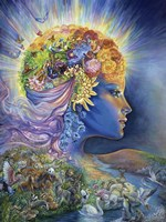 The Presence Of Gaia Fine Art Print