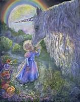 Unicorn Kiss Fine Art Print