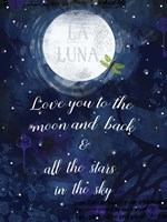 Love you to the Moon Fine Art Print